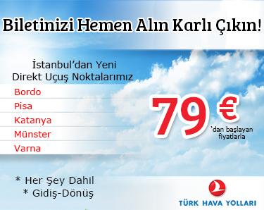 türk hava yolları yurtdışı bilet kampanyası