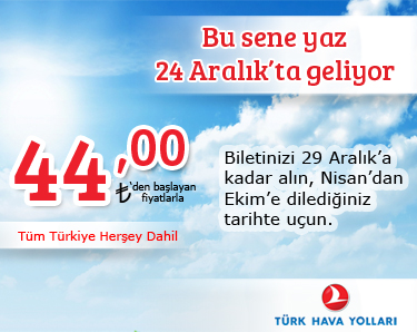 türk hava yolları yaz kampanyası