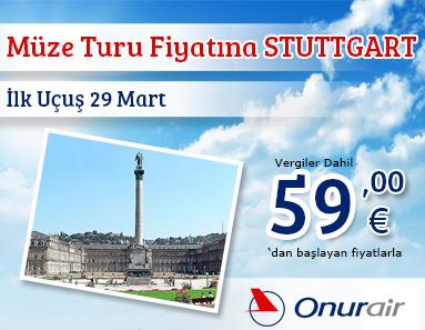 Onur Air Stuttgart Uçuşları