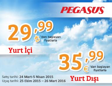 Pegasus Kış Kampanyası