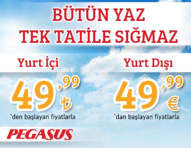 Pegasus Yaz Kampanyası